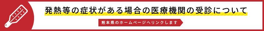 発熱等の症状がある場合の医療機関の受診について(熊本県のホームページへリンクします)