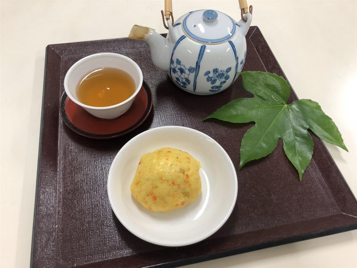 にんじん饅頭