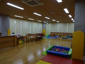 子育て支援センター室内の写真