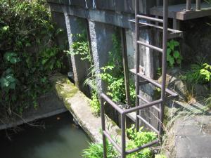 14馬場楠井手の取入口