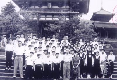 菊陽中学校修学旅行