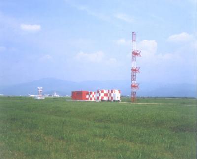 熊本空港(グライドパス局舎)